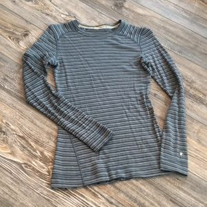 Smartwool 100% Merino Wool Base Layer Top